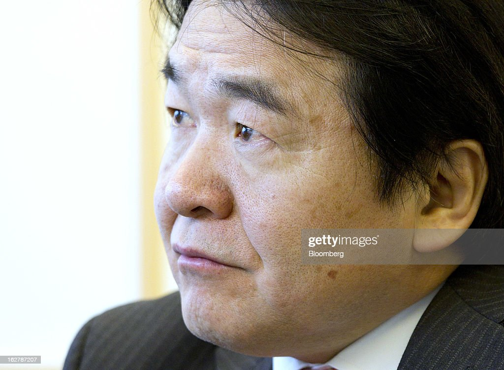 <a gi-track='captionPersonalityLinkClicked' href=/galleries/search?phrase=Heizo+Takenaka&family=editorial&specificpeople=602464 ng-click='$event.stopPropagation()'>Heizo Takenaka</a>, Japan's former economy minister and professor at Keio University, listens during an interview in Tokyo, Japan, on Wednesday, Feb. 27, 2013. Japan has the best opportunity to beat deflation in more than a decade, said Takenaka, the architect of policy changes credited with solving the nation's bad loan problems after a burst real-estate bubble. Photographer: Junko Kimura/Bloomberg via Getty Images