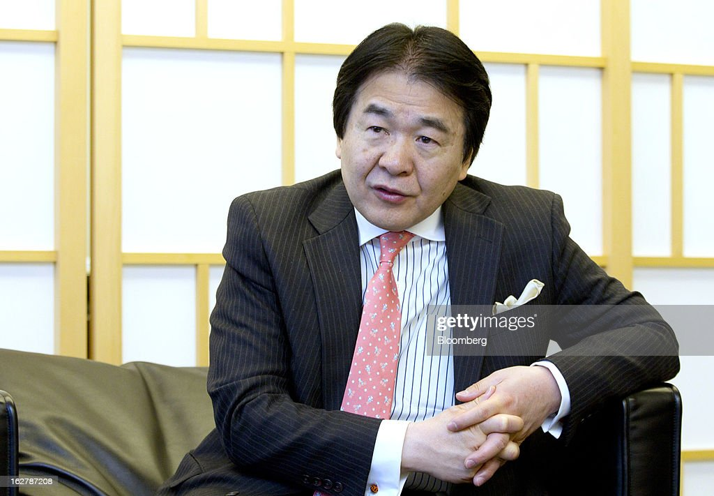 <a gi-track='captionPersonalityLinkClicked' href=/galleries/search?phrase=Heizo+Takenaka&family=editorial&specificpeople=602464 ng-click='$event.stopPropagation()'>Heizo Takenaka</a>, Japan's former economy minister and professor at Keio University, speaks during an interview in Tokyo, Japan, on Wednesday, Feb. 27, 2013. Japan has the best opportunity to beat deflation in more than a decade, said Takenaka, the architect of policy changes credited with solving the nation's bad loan problems after a burst real-estate bubble. Photographer: Junko Kimura/Bloomberg via Getty Images