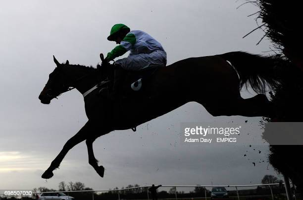 Hel Tara ridden by Jeremiah McGrath wins the 32Red on APP Store Mares' Maiden Hurdle Race