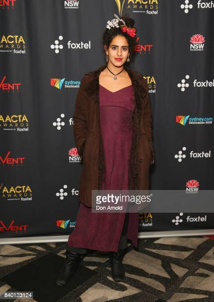 Helana Sawires attends the AACTA Festival of Australian Film opening night at Event Cinemas Bondi Junction on August 28 2017 in Sydney Australia