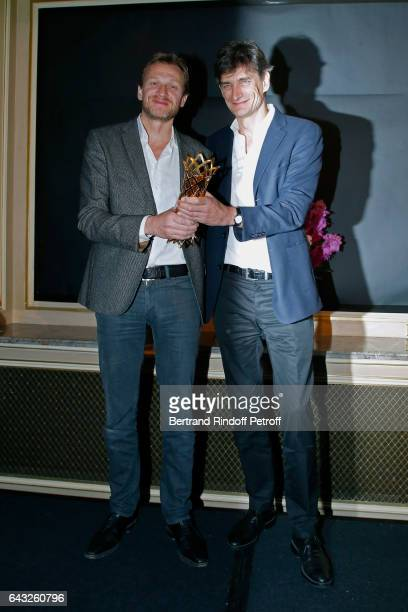 Winners of the 'Daniel Toscan du Plantier' Producer's Price Nicolas Altmayer and his brother Eric Altmayer for all of their production over the year...