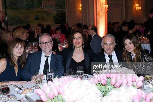Ana Girardot General Delegate of the Cannes Film Festival Thierry Fremaux French Minister of Culture and Communication Audrey Azoulay President of...