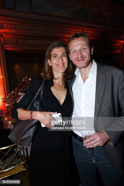 Producer Vanessa Menesguen and CoWinner of the 'Daniel Toscan du Plantier' Producer's Price Nicolas Altmayer attend the 'Diner des Producteurs'...