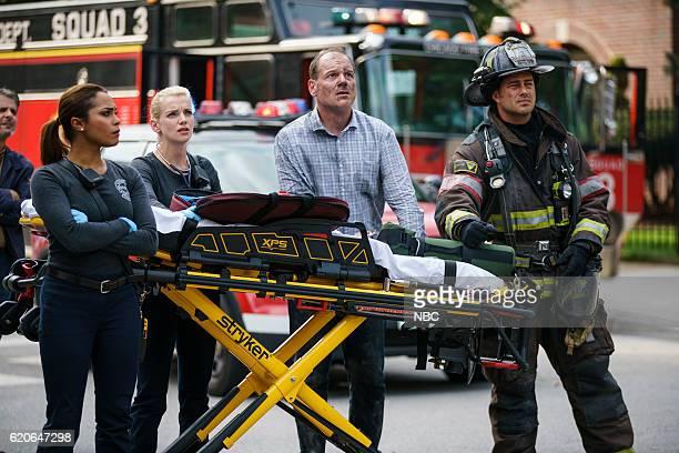 FIRE 'I Held Her Hand' Episode 505 Pictured Monica Raymund as Gabriela Dawson Kara Killmer as Sylvie Brett Michael Nanfria as Darin Whitney Taylor...