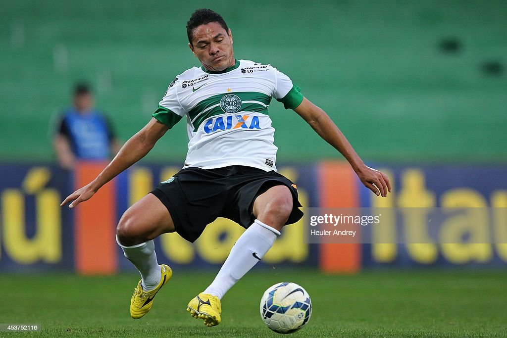 Helder of Coritiba during the match between Coritiba and Flamengo for the Brazilian Series A 2014 at Couto Pereira stadium on August 17, 2014 in Curitiba, Brazil.