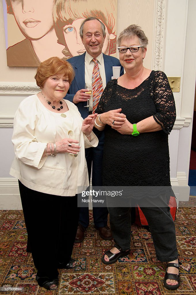 <a gi-track='captionPersonalityLinkClicked' href=/galleries/search?phrase=Helen+Bamber&family=editorial&specificpeople=589583 ng-click='$event.stopPropagation()'>Helen Bamber</a>, Geoffrey Bindman and <a gi-track='captionPersonalityLinkClicked' href=/galleries/search?phrase=Jo+Brand&family=editorial&specificpeople=2162553 ng-click='$event.stopPropagation()'>Jo Brand</a> attend the fundraising event to benefit The <a gi-track='captionPersonalityLinkClicked' href=/galleries/search?phrase=Helen+Bamber&family=editorial&specificpeople=589583 ng-click='$event.stopPropagation()'>Helen Bamber</a> Foundation at Bonhams on October 3, 2011 in London, England.