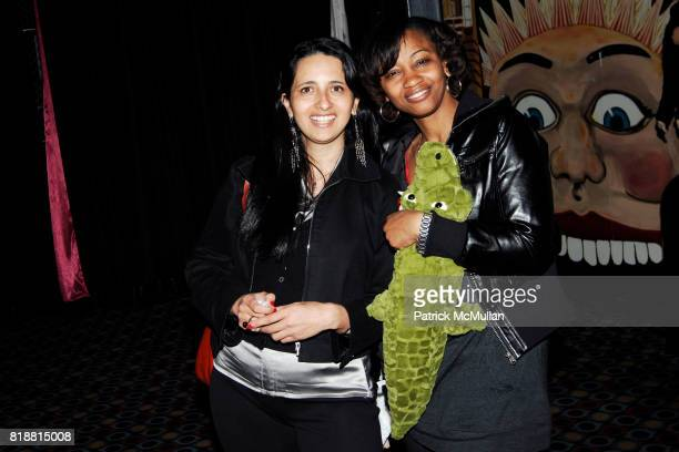 Helen Cantu and Vanessa Core attend LITERACY ASSOCIATES Second Annual Benefit for LITERACY PARTNERS at Carnival on April 27 2010 in New York City