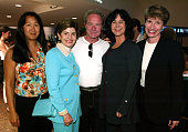 Helen Cho Gloria Allred Peter Mullan Mavis Leno and Kathy Spillar *Exclusive*
