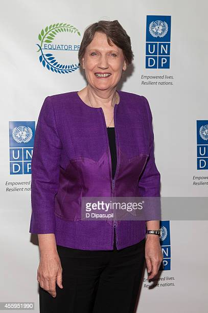 Helen Clark attends the United Nations 2014 Equator Prize Gala at Avery Fisher Hall Lincoln Center on September 22 2014 in New York City