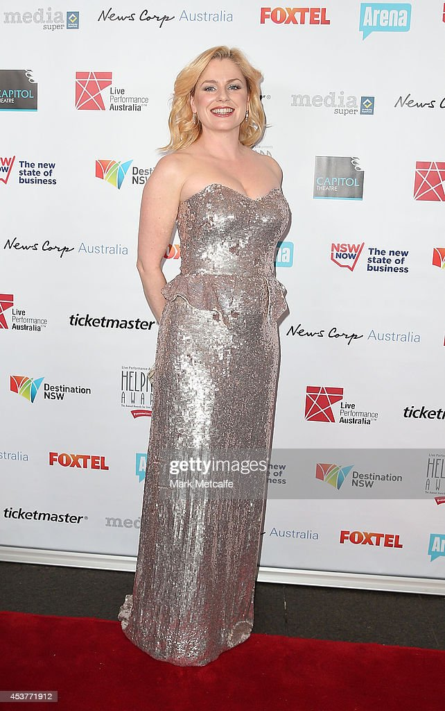 <a gi-track='captionPersonalityLinkClicked' href=/galleries/search?phrase=Helen+Dallimore&family=editorial&specificpeople=243138 ng-click='$event.stopPropagation()'>Helen Dallimore</a> arrives at the 2014 Helpmann Awards at the Capitol Theatre on August 18, 2014 in Sydney, Australia.