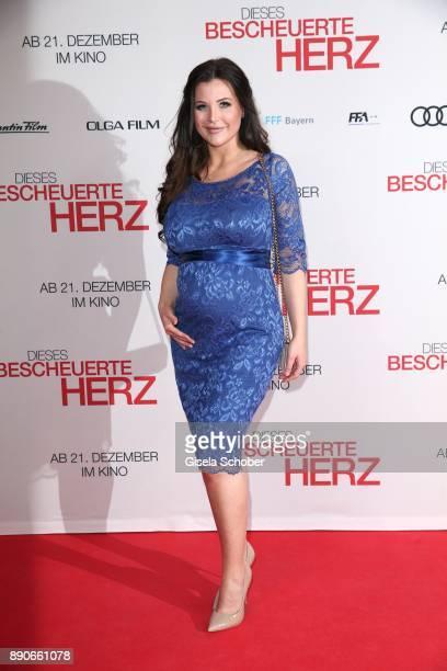 Helen de Muro during the 'Dieses bescheuerte Herz' premiere at Mathaeser Filmpalast on December 11 2017 in Munich Germany