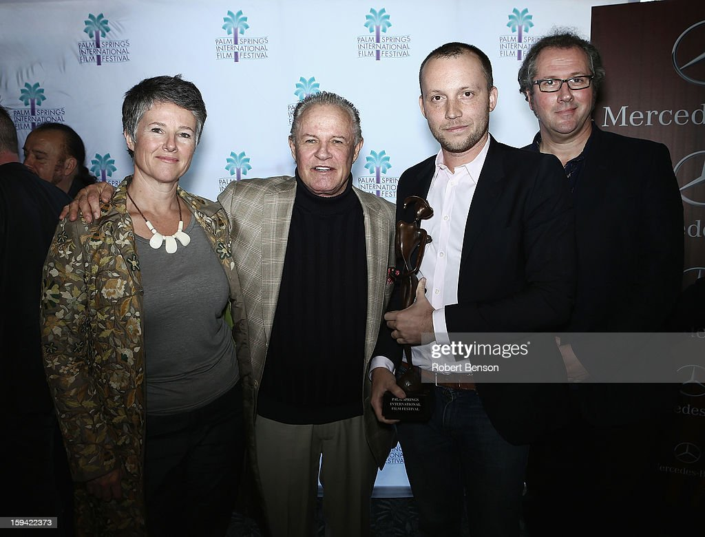 Helen Du Toit (L-R), Micael Childres, Thymaya Payne and Geoffrey Smith at a Festival Awards Brunch at the 24th Annual Palm Springs International Film Festival on January 13, 2013 in Palm Springs, California.