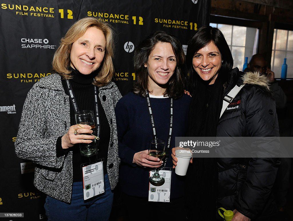 Helen Fisher, Tracy Day and Gwyn Lurie attend the Alfred P. Sloan Foundation Reception & Prize Announcement during the 2012 Sundance Film Festival on January 27, 2012 in Park City, Utah.