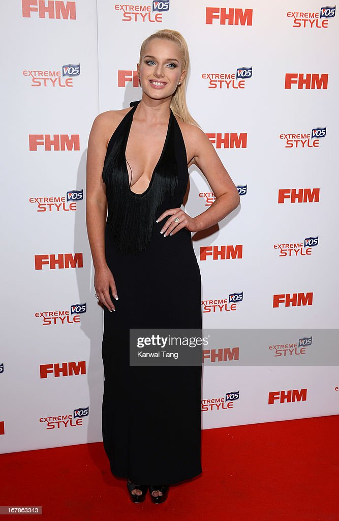 Helen Flanagan arrives for the FHM 100 Sexiest Women in the World 2013 Launch Party held at the Sanderson Hotel on May 1, 2013 in London, England.