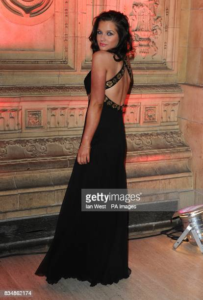 Helen Flanagan at the 2008 National Television Awards at the Royal Albert Hall Kensington Gore SW7