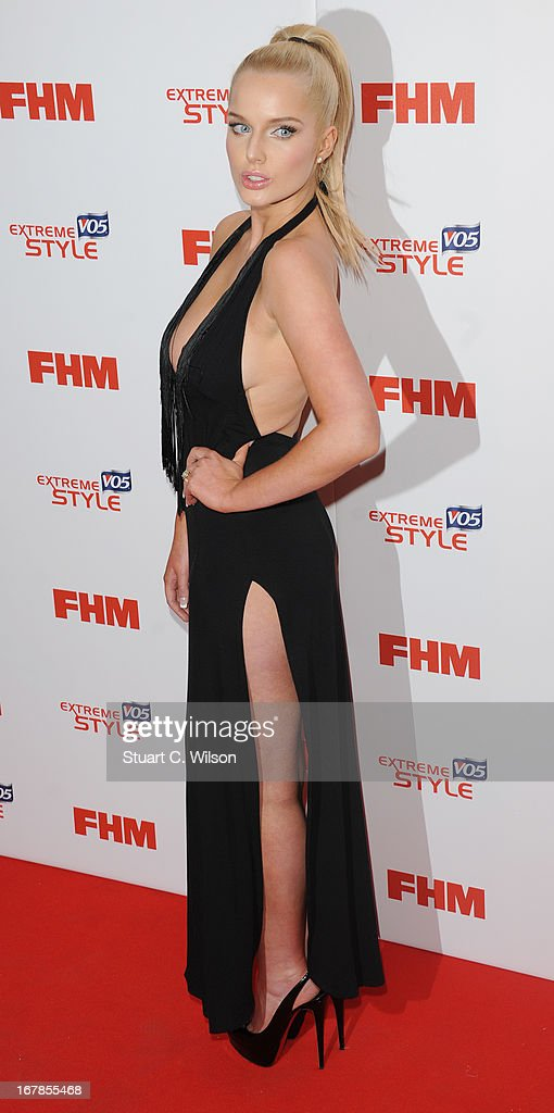 Helen Flanagan attends the FHM 100 Sexiest Women In The World 2013 Launch Party at Sanderson Hotel on May 1, 2013 in London, England.