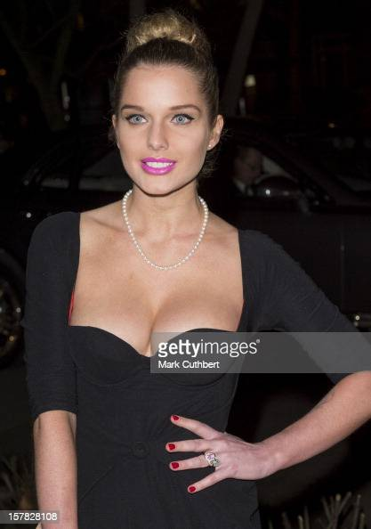 Helen Flanagan attends the Sun Military Awards at Imperial War Museum on December 6 2012 in London England