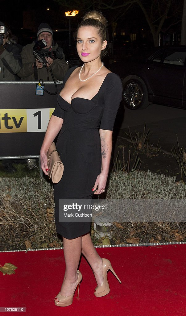 Helen Flanagan attends the Sun Military Awards at Imperial War Museum on December 6, 2012 in London, England.