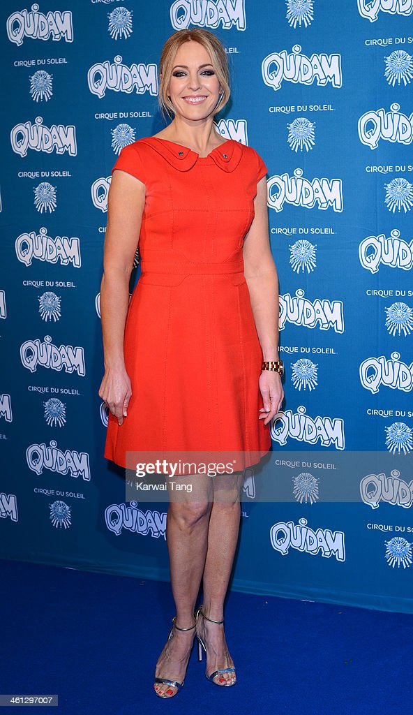 Helen Fospero attends the VIP night for Cirque Du Soleil: Quidam at Royal Albert Hall on January 7, 2014 in London, England.