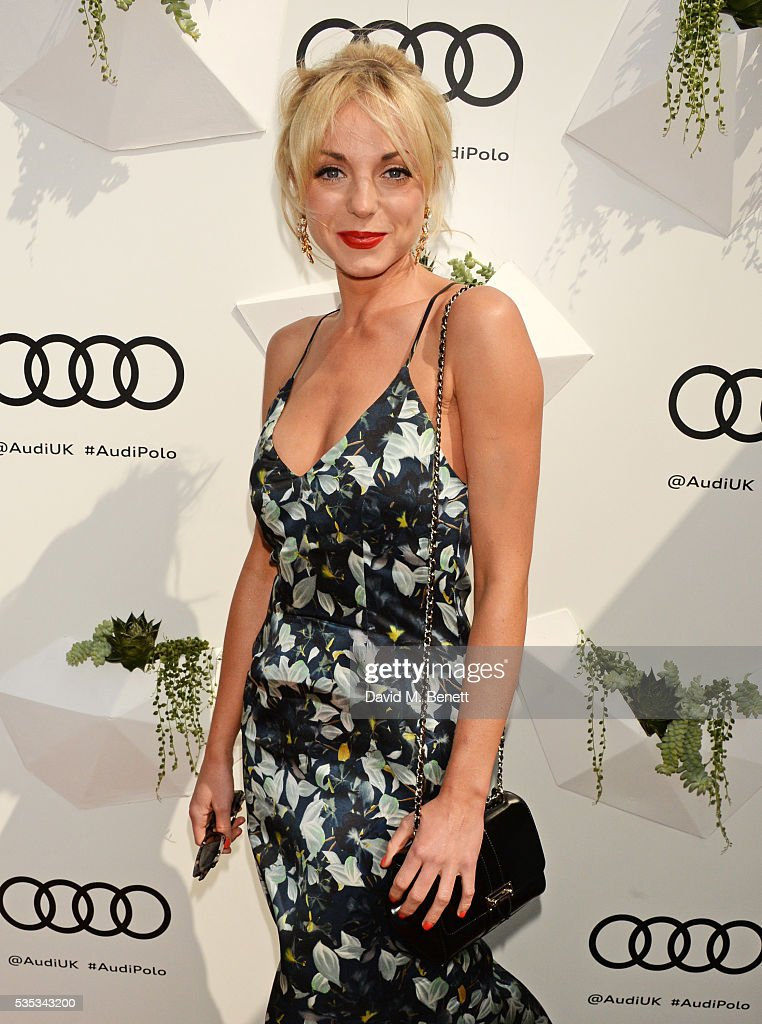 <a gi-track='captionPersonalityLinkClicked' href=/galleries/search?phrase=Helen+George&family=editorial&specificpeople=9063568 ng-click='$event.stopPropagation()'>Helen George</a> attends day two of the Audi Polo Challenge at Coworth Park on May 29, 2016 in London, England.