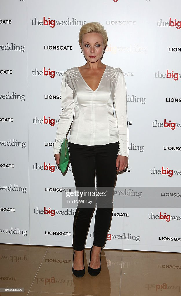 Helen George attends Special screening of 'The Big Wedding' at May Fair Hotel on May 23, 2013 in London, England.