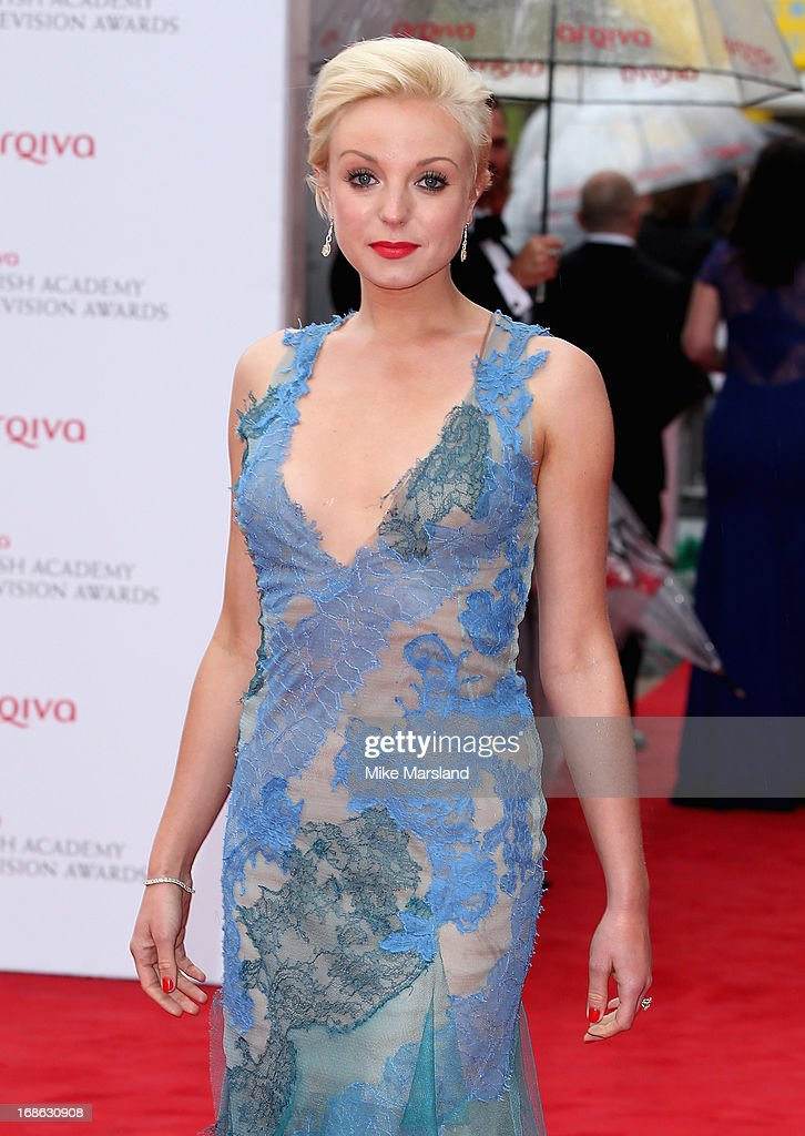 Helen George attends the Arqiva British Academy Television Awards 2013 at the Royal Festival Hall on May 12, 2013 in London, England.