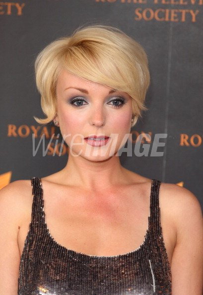 Helen George Attends The Rts Programme Awards At Grosvenor House On
