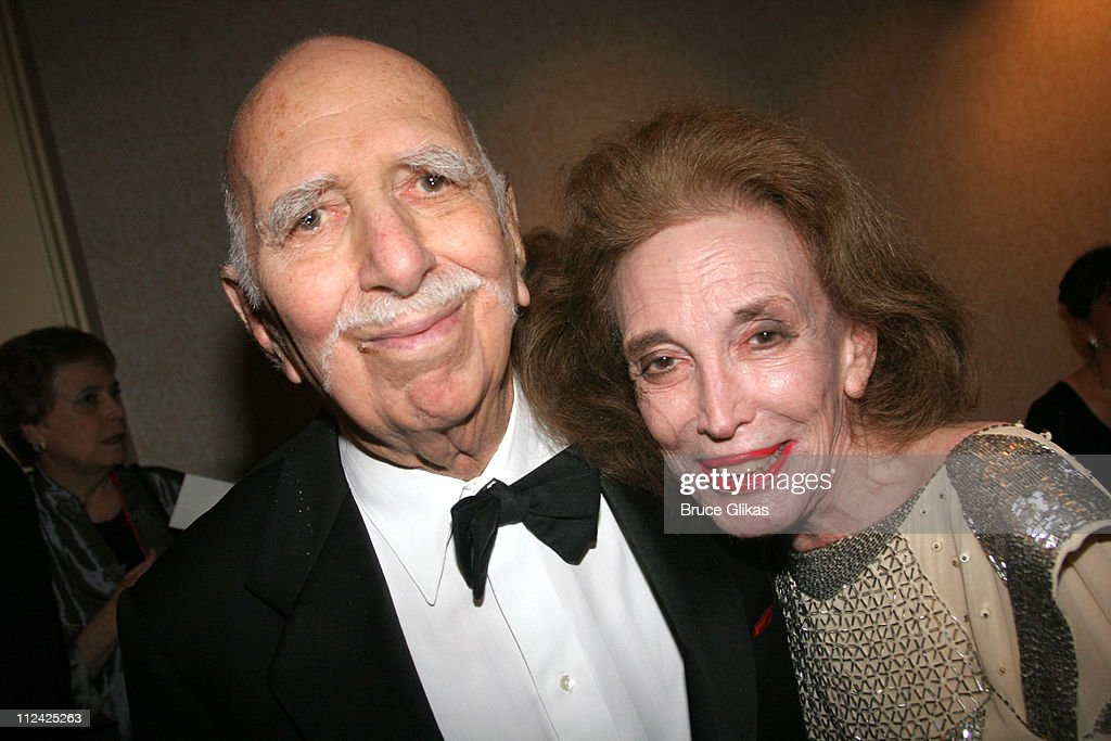 <a gi-track='captionPersonalityLinkClicked' href=/galleries/search?phrase=Helen+Gurley+Brown&family=editorial&specificpeople=215179 ng-click='$event.stopPropagation()'>Helen Gurley Brown</a> and David Brown during The Acting Company's 2005 Black and White Masquerade Ball Saluting Jack O'Brien at The Waldorf Astoria in New York City, New York, United States.