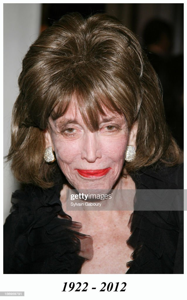 Helen Gurley Brown during The Museum of Television and Radio Honors Bob Wright and 'Saturday Night Live' at Waldorf Astoria on February 2, 2006 in New York City, New York, United States. Helen Gurley Brown died in 2012.