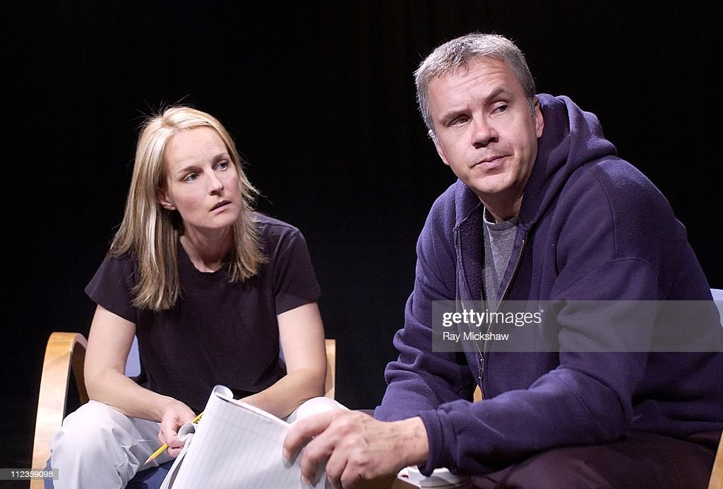Helen Hunt and Tim Robbins star in a staged reading and west coast premiere of a new play 'The Guys' written by Anne Nelson and directed by Robert...