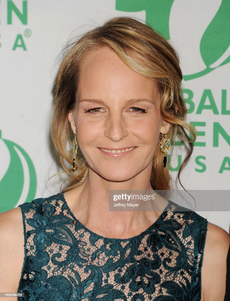 Helen Hunt arrives at Global Green USA's 10th Annual PreOscar party at Avalon on February 20 2013 in Hollywood California
