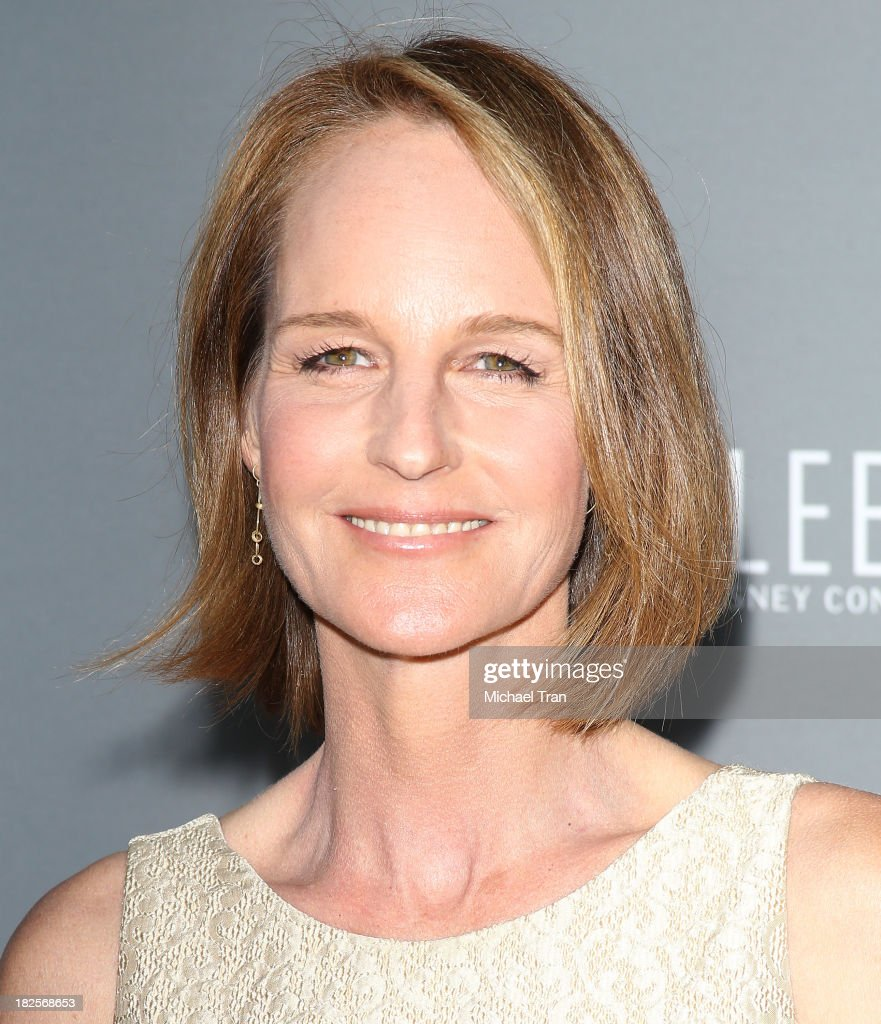 Helen Hunt arrives at LA Philharmonic's Walt Disney Concert Hall 10 Year Anniversary Celebration held on September 30 2013 in Los Angeles California