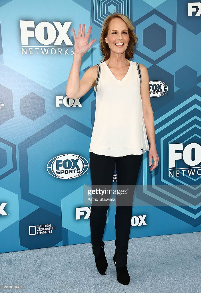 Helen Hunt attends FOX 2016 Upfront Arrivals at Wollman Rink, Central Park on May 16, 2016 in New York City.