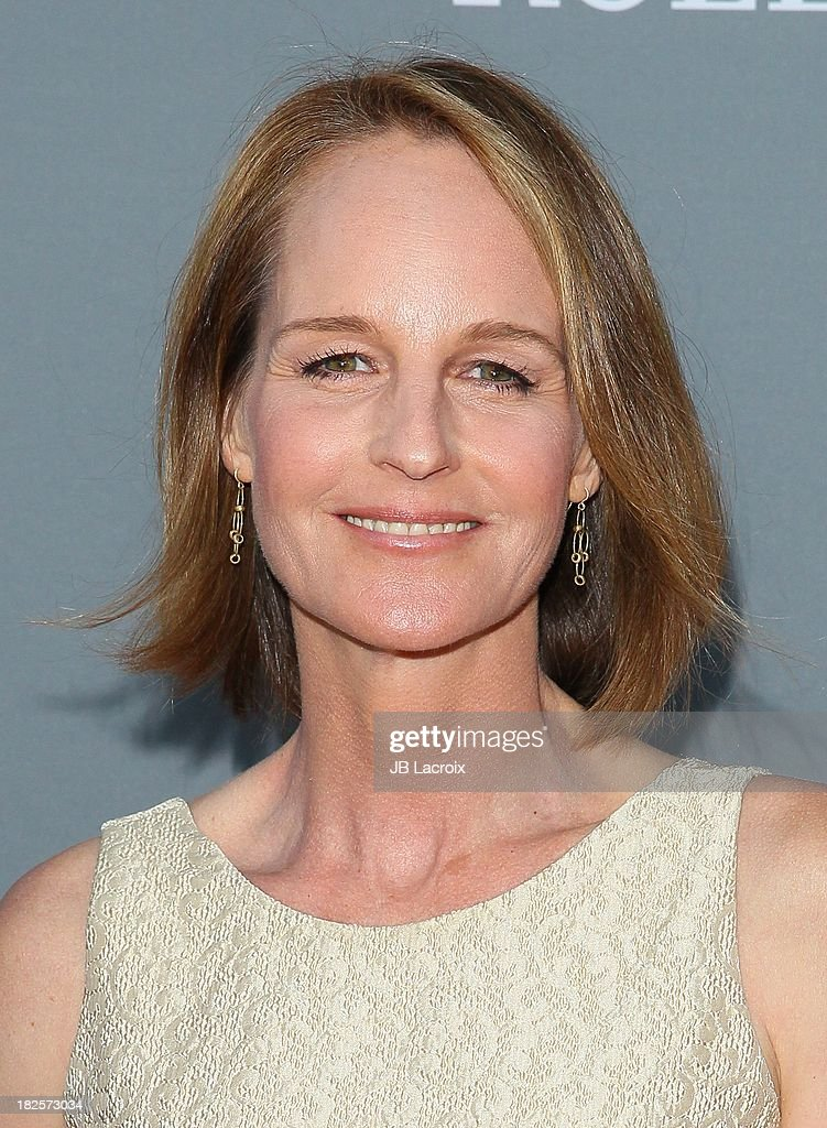 Helen Hunt attends the LA Philharmonic's Walt Disney Concert Hall 10 Year Anniversary Celebration at Walt Disney Concert Hall on September 30 2013 in...