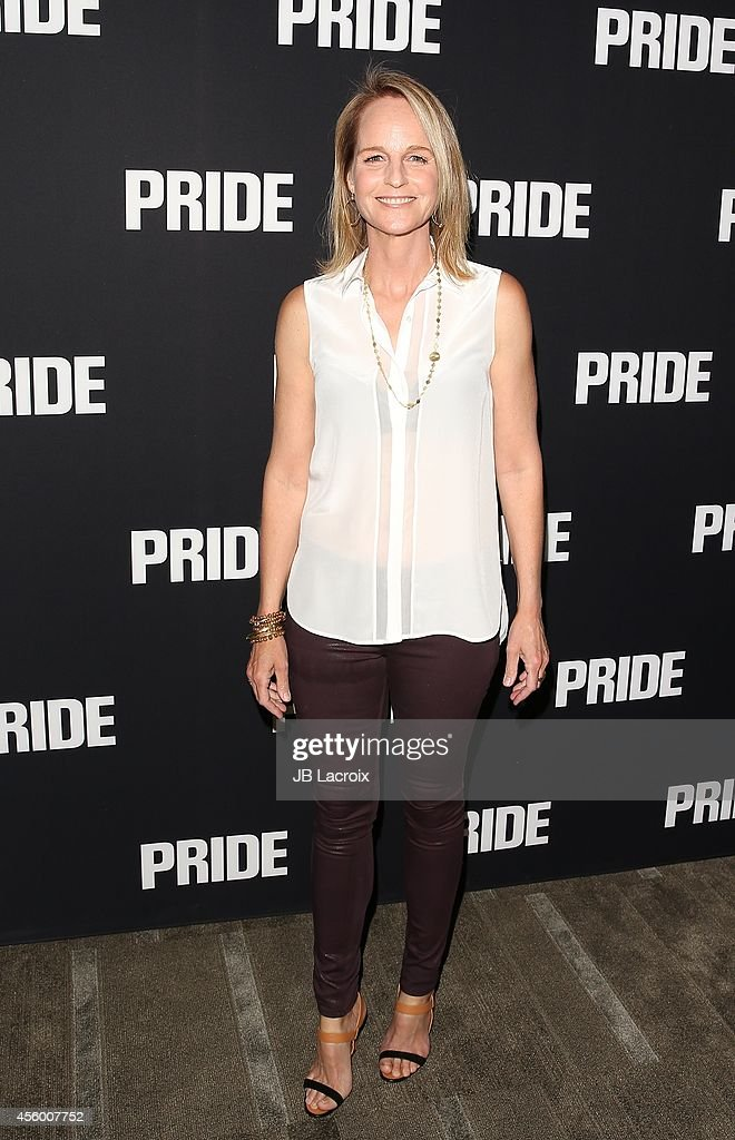 Helen Hunt attends the 'Pride' Los Angeles special screening on September 23 in Beverly Hills California