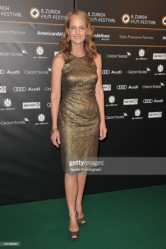 Helen Hunt attends 'The Sessions' premiere as part of the Zurich Film Festival 2012 on September 21 2012 in Zurich Switzerland