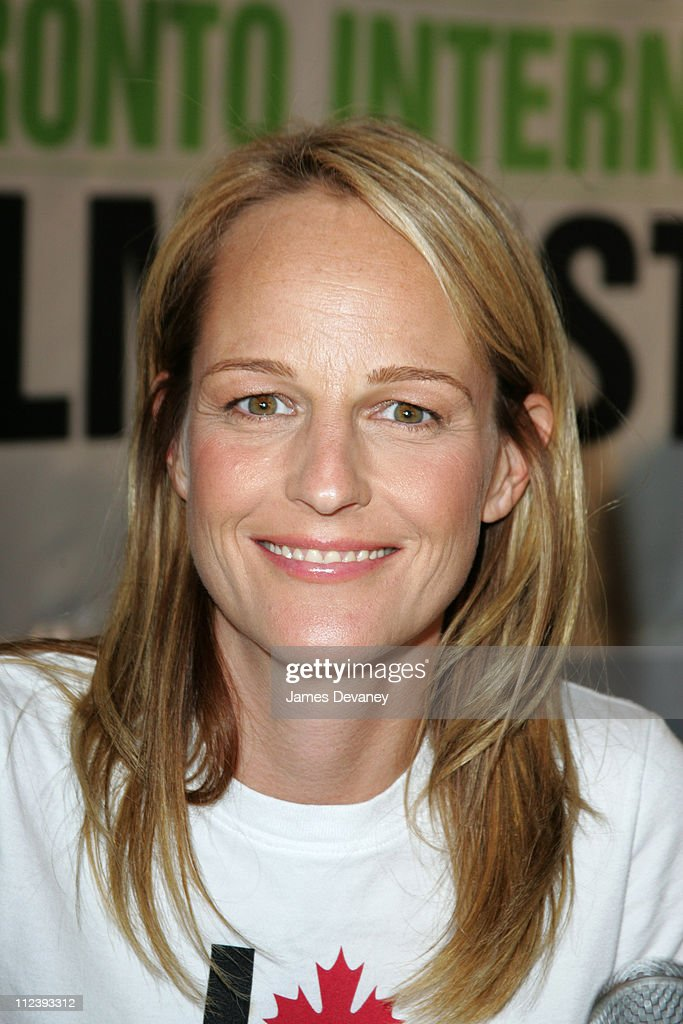 Helen Hunt during 2004 Toronto International Film Festival 'A Good Woman' Press Conference at Four Seasons in Toronto Ontario Canada