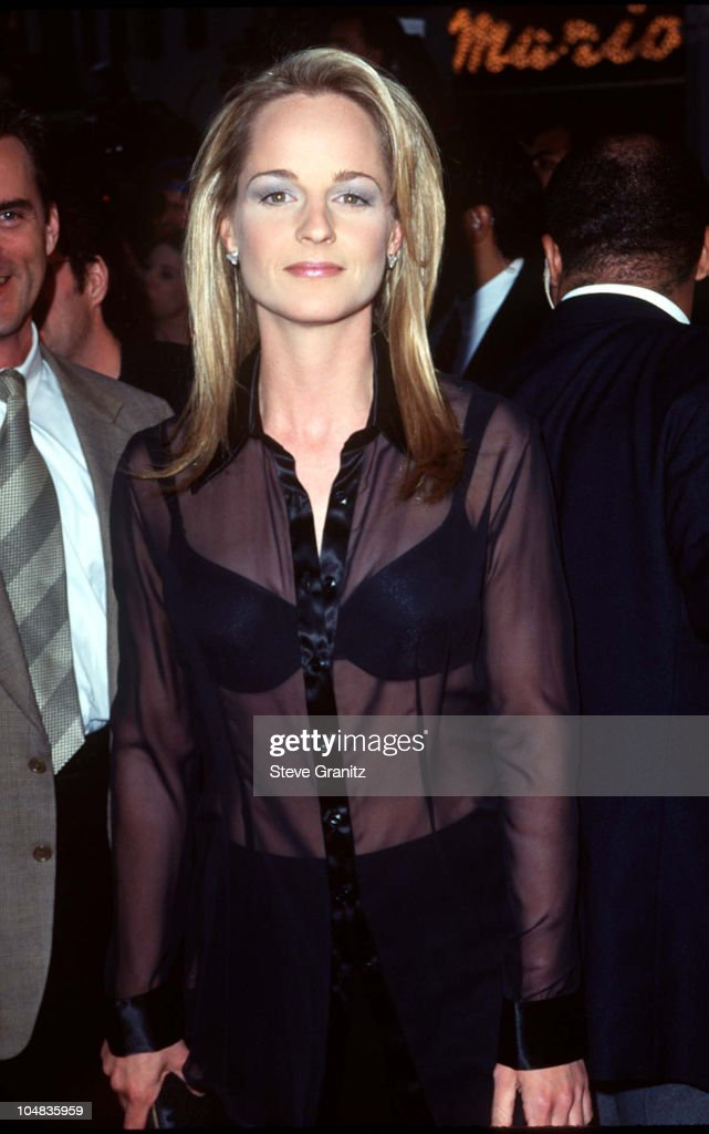 Helen Hunt during 'Twister' Los Angeles Premiere at Mann Village Theatre in Westwood California United States
