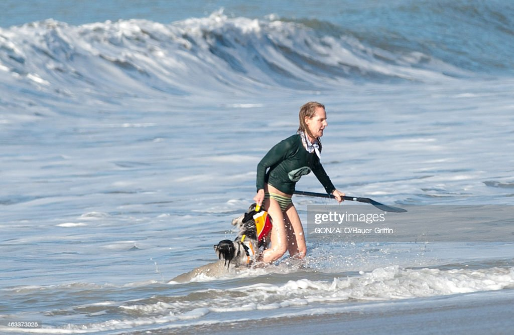Helen Hunt is seen in Malibu on February 13 2015 in Los Angeles California