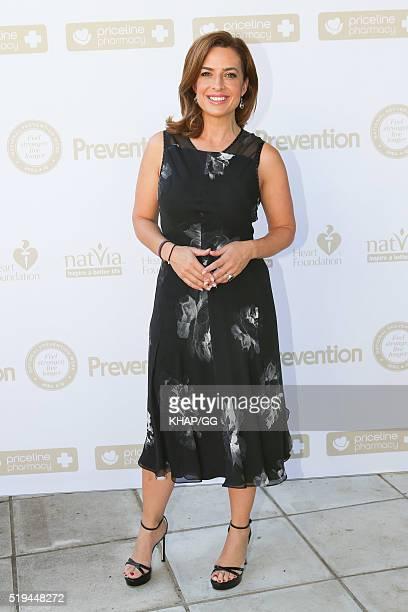 Helen Kapalos attends National Prevention Week Breakfast held at Catalina Restaurant on April 05 2016 in Sydney Australia