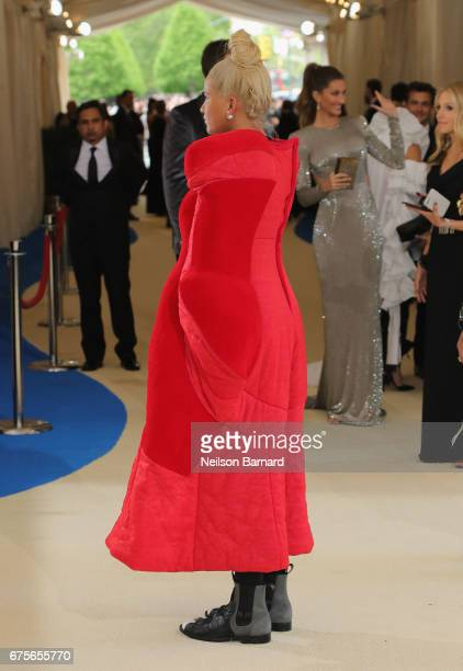 Helen Lasichanh attend the 'Rei Kawakubo/Comme des Garcons Art Of The InBetween' Costume Institute Gala at Metropolitan Museum of Art on May 1 2017...