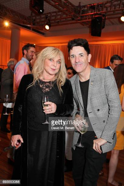 Helen Lederer and guest attend the Baileys Women's Prize For Fiction Awards 2017 at The Royal Festival Hall on June 7 2017 in London England