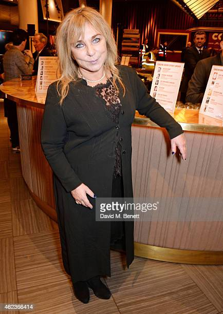 Helen Lederer attends the Costa Book of the Year award at Quaglinos on January 27 2015 in London England