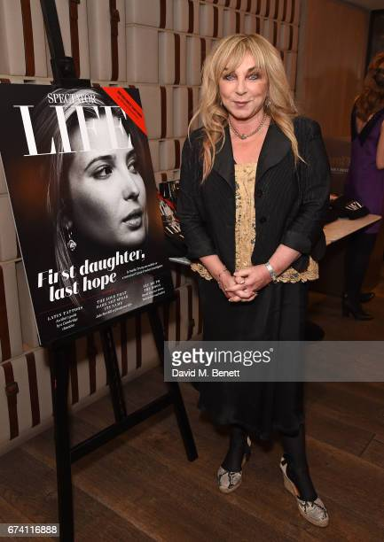 Helen Lederer attends the Spectator Life 5th Birthday Party at the Hari Hotel on April 27 2017 in London England