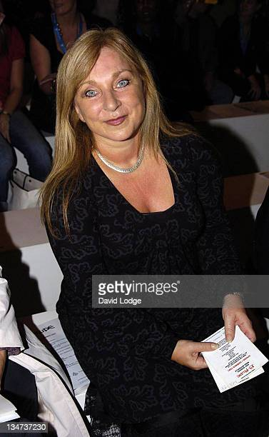 Helen Lederer during London Fashion Week Spring/Summer 2007 BRude Runway at BFC Tent in London Great Britain