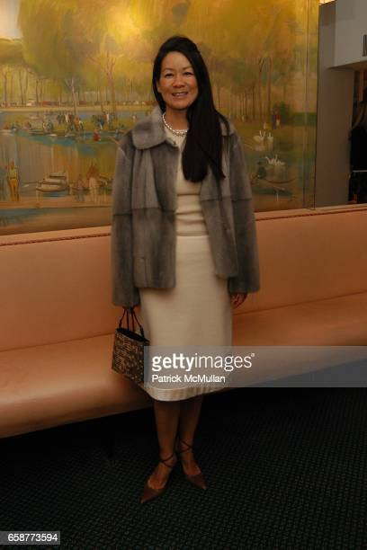 Helen Lee Schifter attends Andre Leon Talley and Robert Burke host at La Caravelle for Loulou de la Falaise Collection on February 12 2004