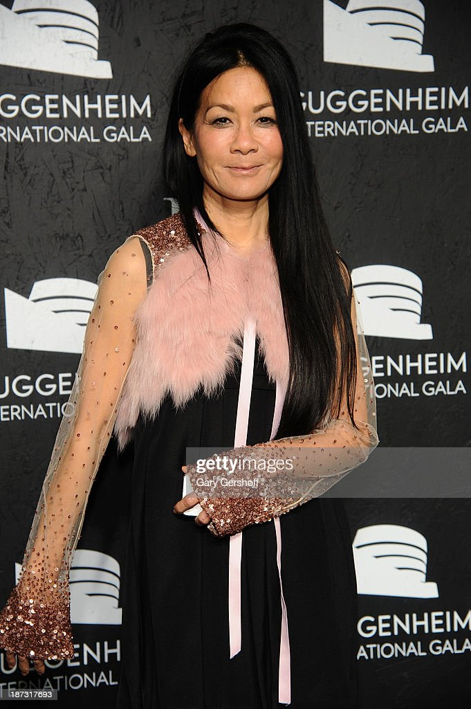 Helen Lee Schifter attends the Guggenheim International Gala, made possible by Dior, at the Guggenheim Museum on November 7, 2013 in New York City.