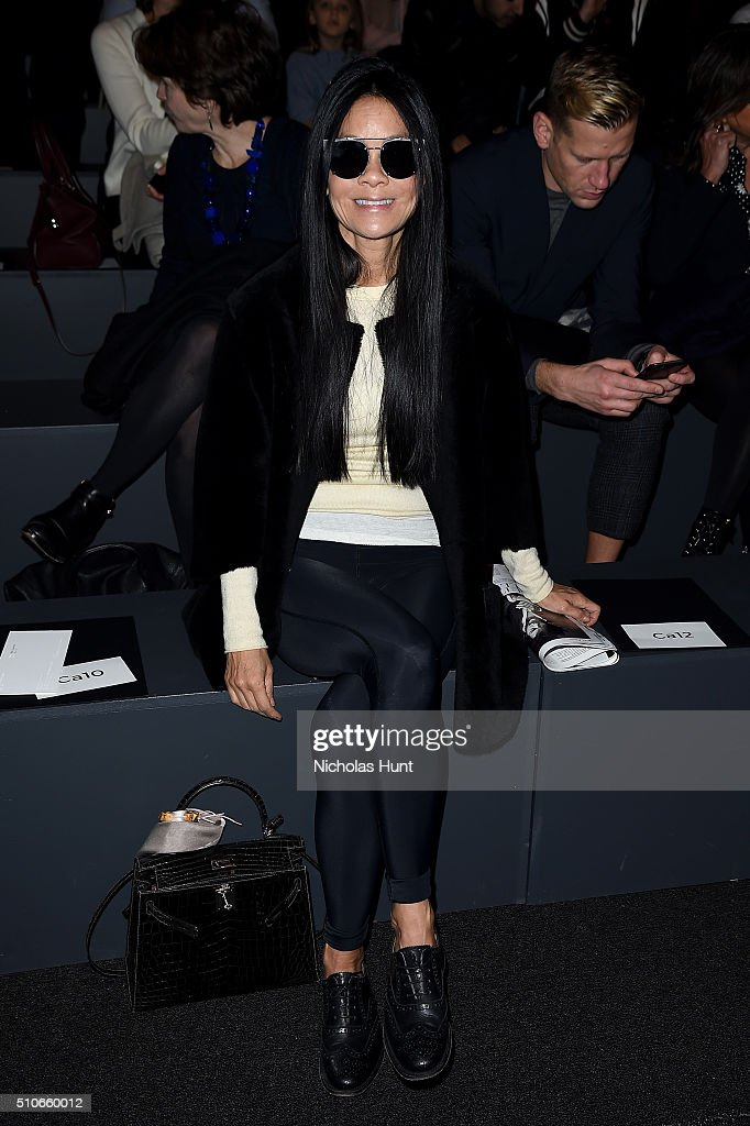 Vera Wang Collection Front Row Fall 2016 New York Fashion Week The Shows Getty Images