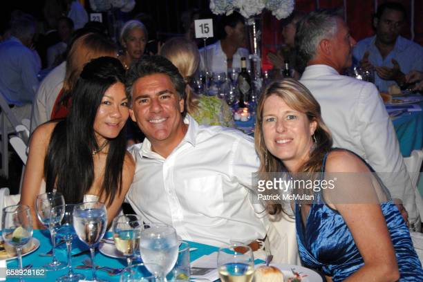 Helen Lee Schifter Richard Mishaan and Ann Colley attend The Art of Fashion in The Hamptons GUILD HALL Summer Gala Honoring MARJORIE F CHESTER...