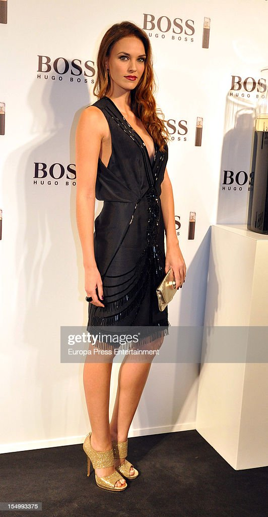 Helen Lindes attends the launch of 'Boss Nuit Pour Femme' fragrance on October 29, 2012 in Madrid, Spain.